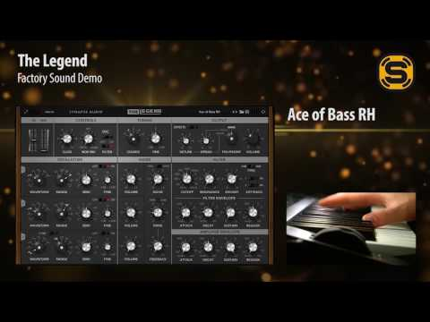The Legend Synth Demo Sounds