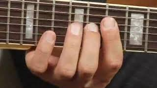 Play D7 Chord on the Top Guitar Strings: 3rd Inversion