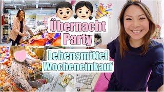 Kinder Übernachtungsparty 🎉 Einkaufen im Supermarkt & Food Haul | Mama Vlog | Mamiseelen