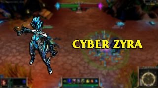 Cyber Connection Zyra LoL Custom Skin ShowCase
