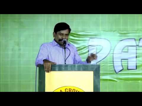 Kaliyamoorthy speech