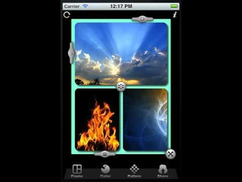 Frame Magic - iOS App to Merge Photos to Frame