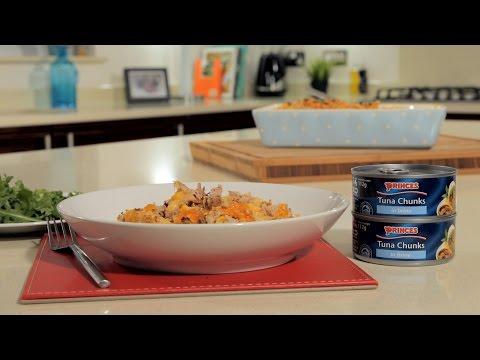 Twisted Tuna Pasta Bake Recipe