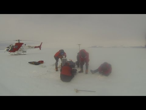 Scientists Bury GPS in Antarctic Ice to Measure Effects of Tides