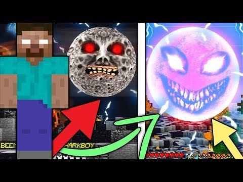HEROBRINE COMANDA LUNAR E RED SUN NEL MIO MONDO! Minecraft ITA Seed