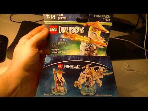 LEGO Dimensions - Flying White Dragon Building Instructions ...