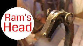How to Forge a Ram's Head // Blacksmithing Tutorial