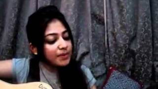 "RIYA ""the cute girl"" singing soniye hiriye and tere bina"