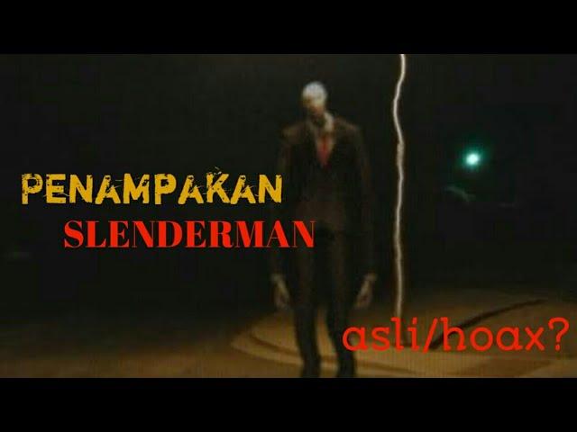 SLENDERMAN asli di gedung! - hoax?