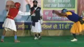 First International Gatka Competition at Gurduara Yadgar Sahib jarg 12.mp4
