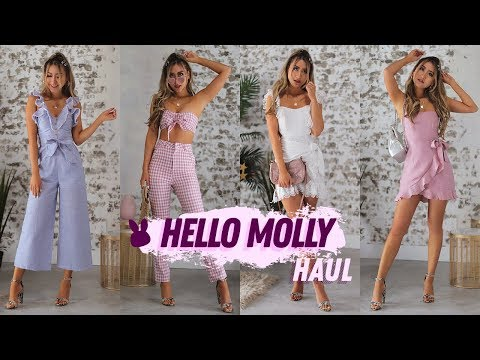Hello Molly Try On Haul & Review | Spring Clothing