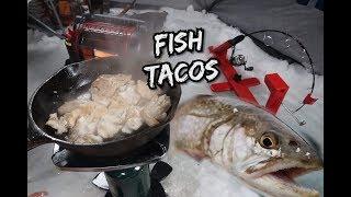 Ice Fishing 2019 | Splake Fishing (FISH TACOS)