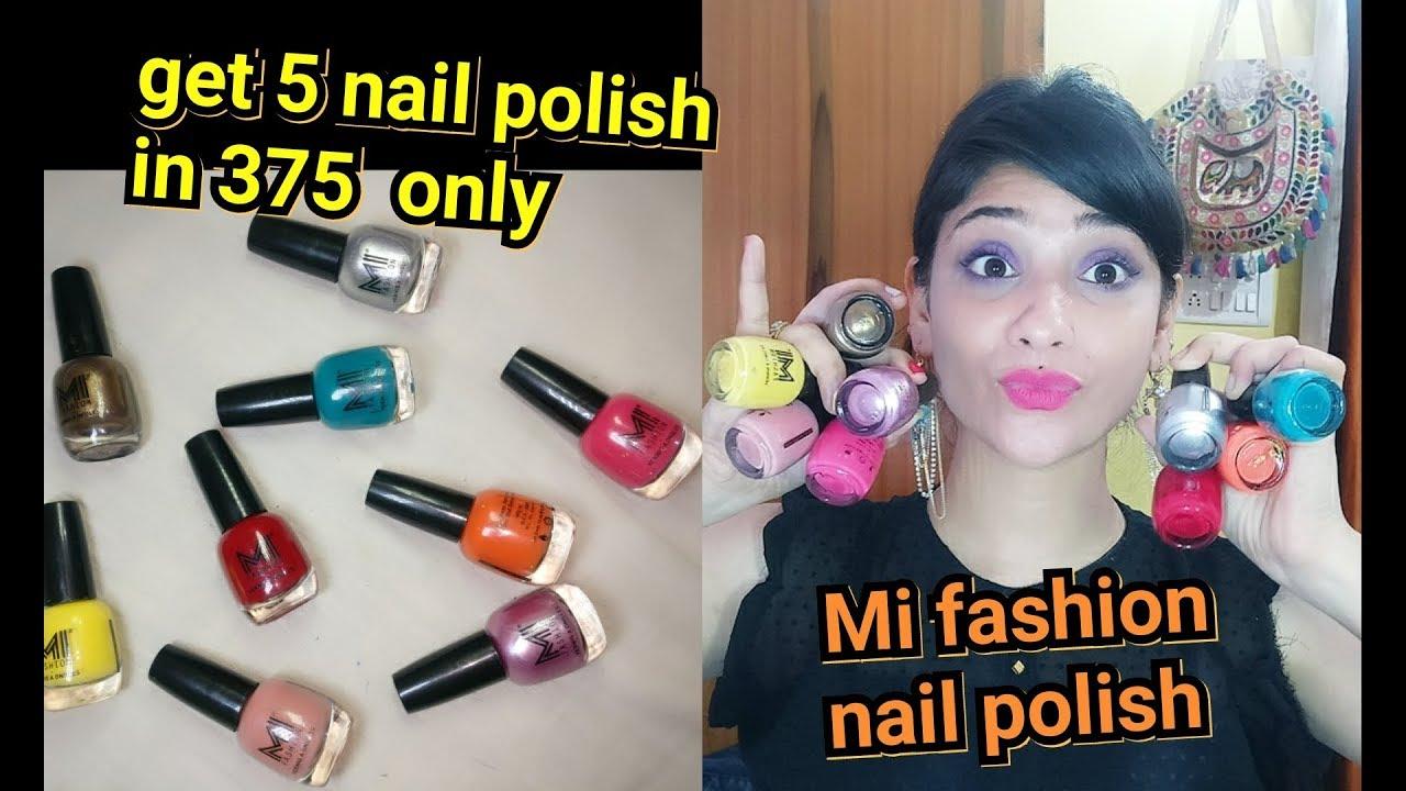 get 5 nail polish under 375 only | MI fashion nail polish | get your ...