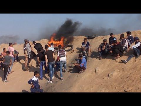 Palestinian Demonstration Continues Along Israel Gaza Strip Border