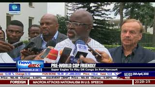 Rivers Govt Is Ready To Host Eagles Friendly -  Iyaye