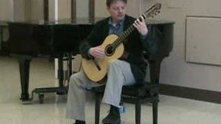 Classical Guitarist Luther Enloe - Sehnsucht (Longing) by Mertz