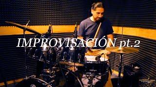 Improvisación en batería pt. 2 - Josafat Alarcón | Sesiones HUMART