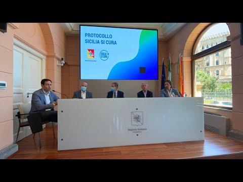 """Conferenza stampa """"Progetto Sicilia Sicura"""""""