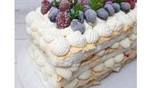 Меренговый торт получается у всех