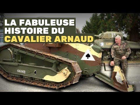 Piloter un char de la Première Guerre mondiale - Témoignage de l'adjudant-chef Arnaud