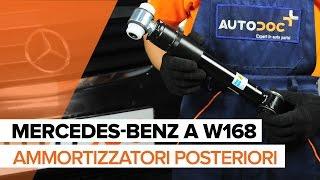 Come sostituire Ammortizzatori posteriori su MERCEDES-BENZ A W168 [TUTORIAL]