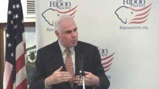 Chairman Patrick Meehan speaks on cybersecurity with The Ripon Society
