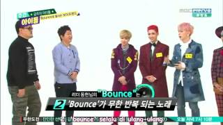 [INDO SUB] WEEKLY IDOL with BOYFRIEND Bounce era