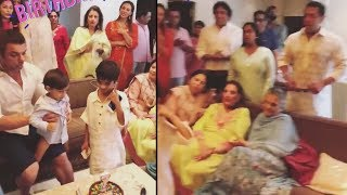 Video - Salman Khan & Iulia Vantur Celebrate Nephew Birthday | EID Mubarak