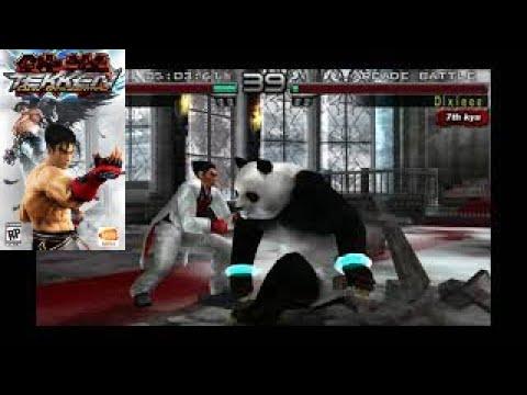 Tekken 5 Dark Resurrection Psp Gameplay Hd 60fps Youtube