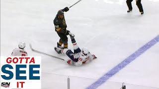 GOTTA SEE IT:  Ryan Reaves Buries Tom Wilson Twice In Eight Seconds