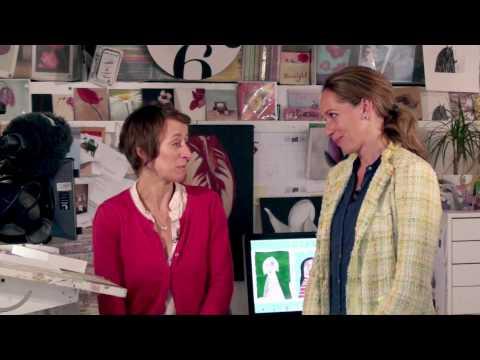 WDR films Caroline Pedler at work for 'Wunderschoen'