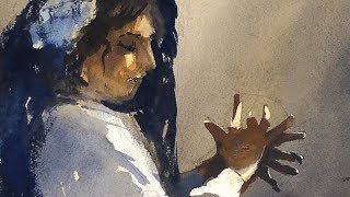 "Advancing with Watercolor: Working with the Figure in Watercolor ""The Flamenco Artist"""