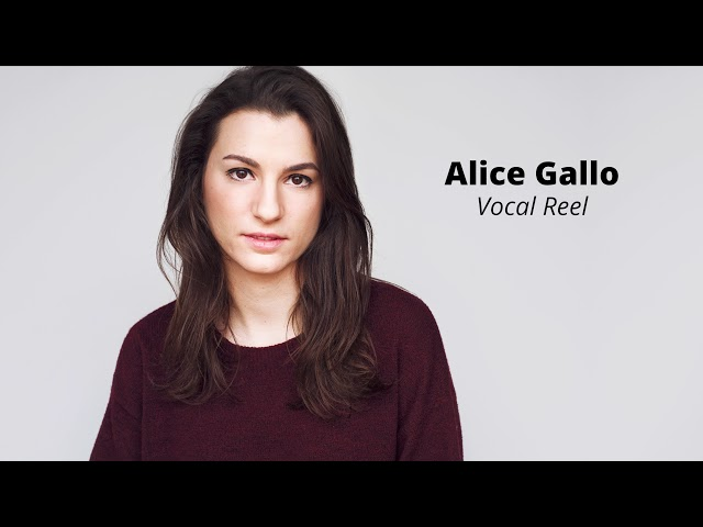 Alice Gallo - Vocal Reel