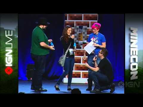 Minecraft Wedding Proposal - MineCon