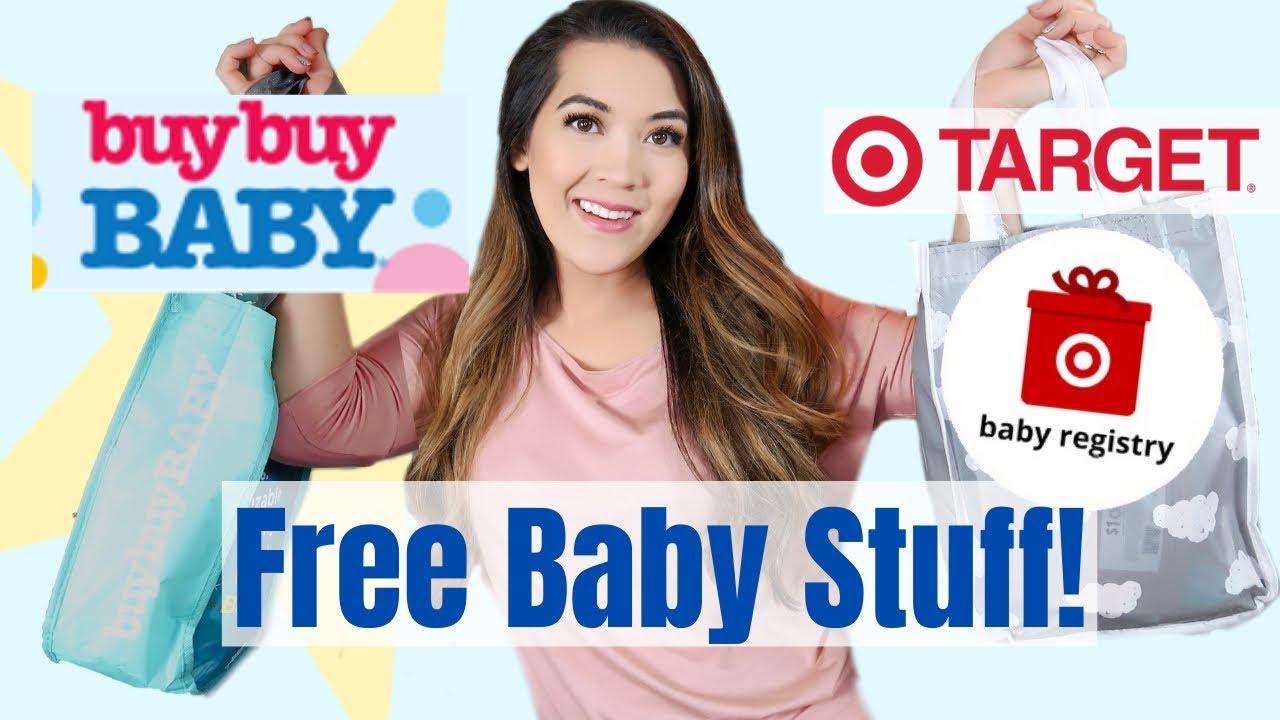 FREE BABY STUFF UNBOXINGS 2020 | Target Baby Registry Gift ...