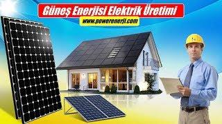 DİKKAT l Evler İçin Solar Sistem Maliyeti (Güneş Enerjisi Elektrik Üretimi )