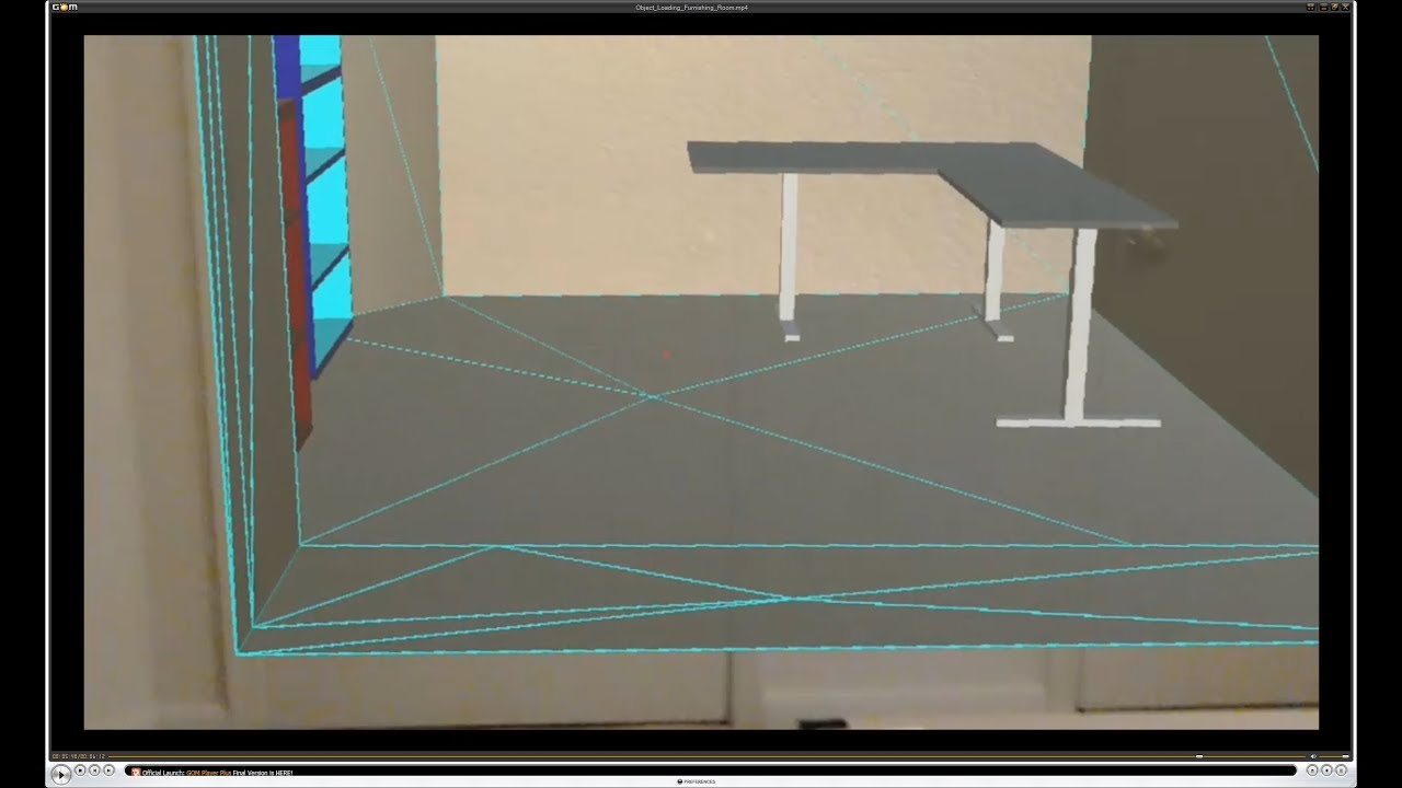 HoloLens : 3D Model Insertion - Furnishing a Spatially Authored Augmented  Reality room