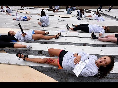 UT holds disaster drill at Neyland Stadium