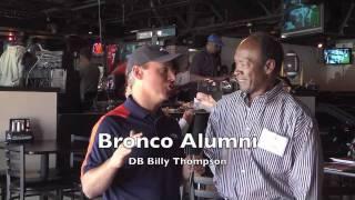 Denver Broncos Alumni and fans watch Tebow