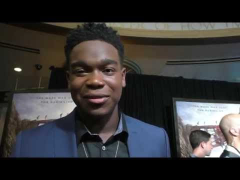 The Maze Runner: The Scorch Trials NYC Premiere - Dexter Darden