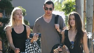 Reality Star Nick Simmons Hangs Out With His Girlfriends