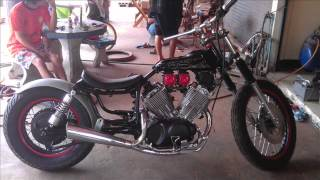 Repeat youtube video virago bobber  project