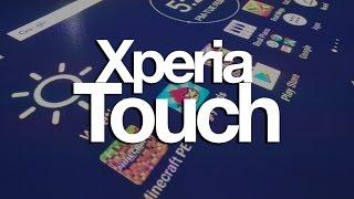 Cualquier superficie se convierte en display táctil con Xperia Touch!