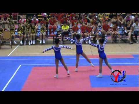 Aerobic   4  Hai Phong   Tu chon 3 nguoi Cap 1 1 3   HKPD KVII 2012