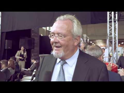 Interview havenschepen Marc Van Peel @ Transport & Logistics Antwerpen 2015
