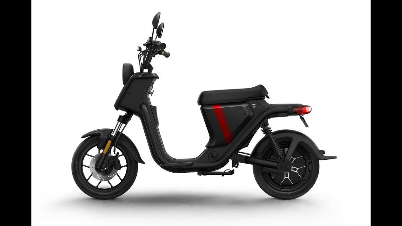 NIU U (UQi) Pro Series 1200w 28mph Moped Static Review - Green-mopeds.com