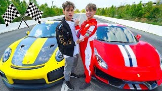 I RACED my TWIN BROTHER! (Loser Gets RID Of Car)