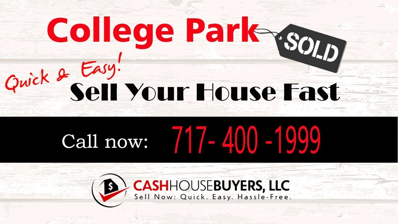 HOW IT WORKS We Buy Houses College Park MD | CALL 7174001999 | Sell Your House Fast College Park