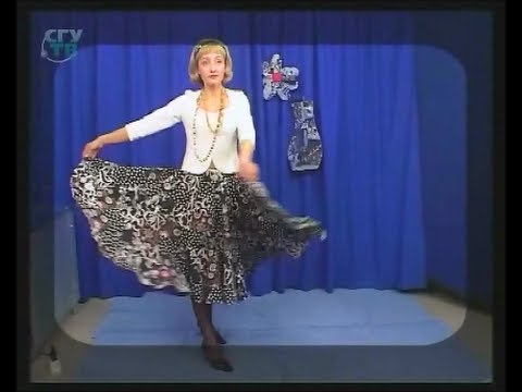 ab32cea42d47 Quilting. Sew calico elegant trapeze skirt without a pattern and fittings