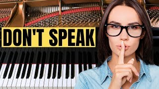 No doubt – don't speak (relaxing piano covers)